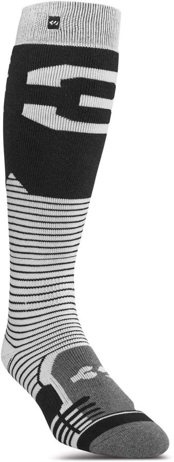 thirtytwo Adult Unisex Performance ASI Snowboard/Ski Socks, S/M Black