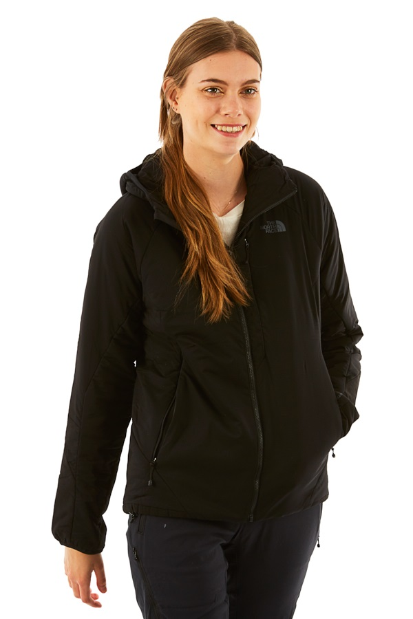The North Face Ventrix Hoodie Womens Insulated Jacket, UK 16 TNF Black