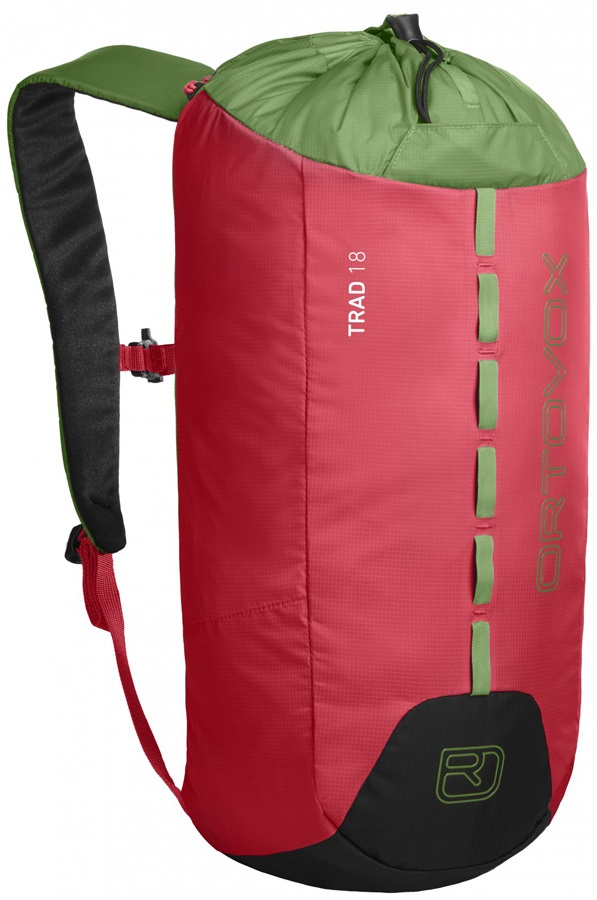 Ortovox Trad 18 Backpack Lightweight Climbing/Gym Bag 18L Hot Coral