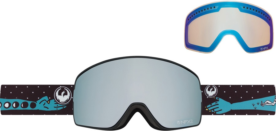 Dragon NFX2 Snowboard/Ski Goggles M Forest Bailey Sig Mirror Ion