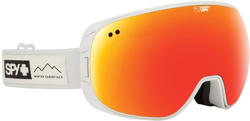 SPY Doom Red Spectra Snowboard/Ski Goggles, L Essential White