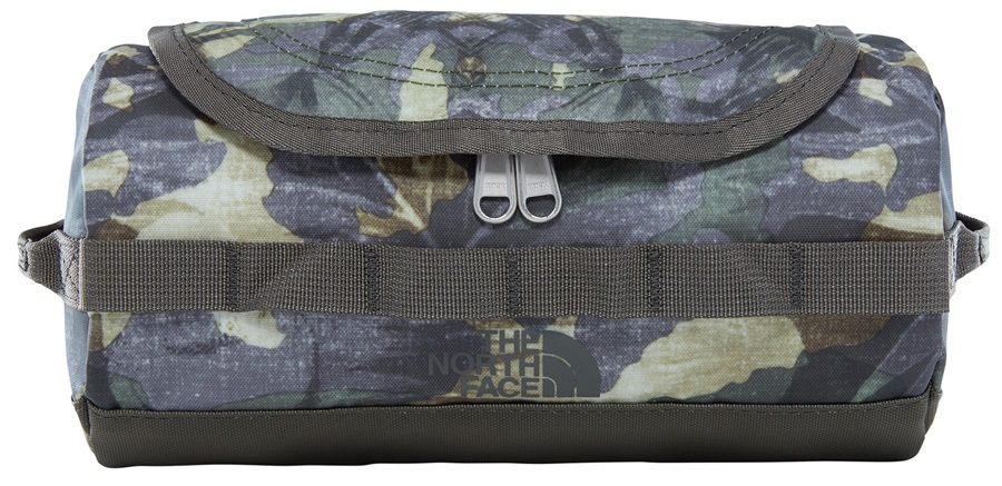 The North Face Base Camp Travel Canister Wash Bag, S English Green