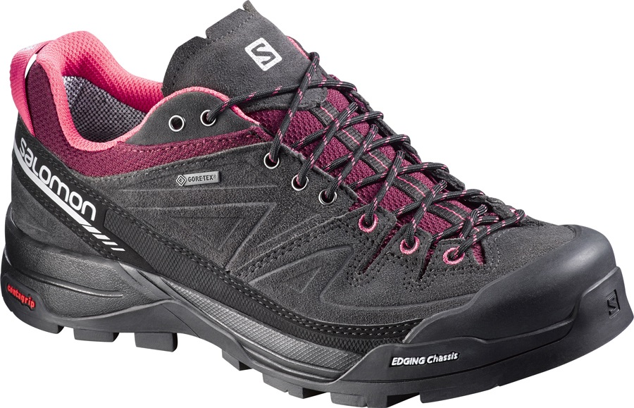 Salomon X Alp LTR GTX Women's Approach/Walking Shoes UK 5 Grey