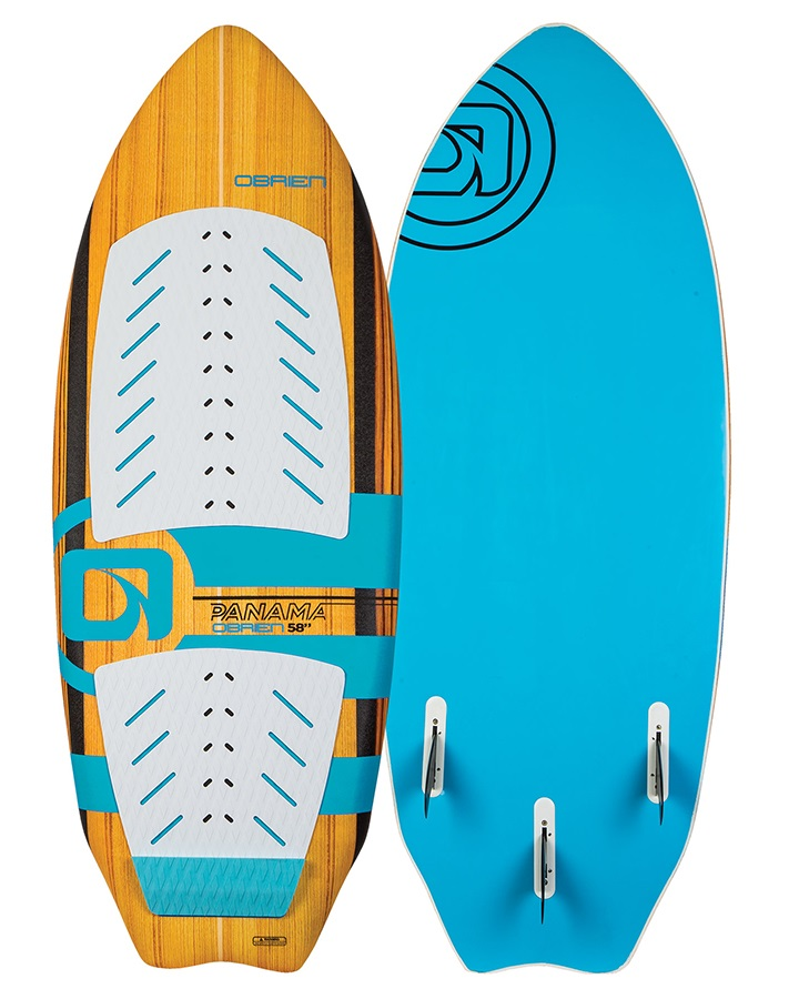 "O'Brien Panama Soft Top Wakesurfer, 4'10"" Blue"