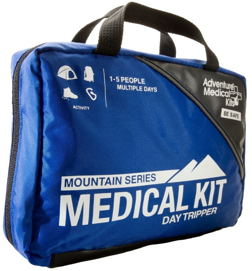Adventure Medical Kits Day Tripper Compact First Aid Kit, 25 Items