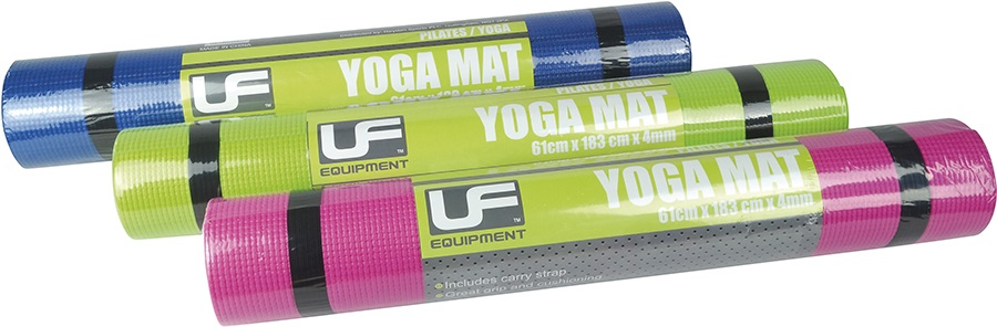 Urban Fitness Equipment PVC Yoga Mat, Pink