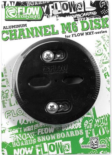 Flow Channel M6 Aluminium Disc ICS Channel Conversion Discs Post 10/11