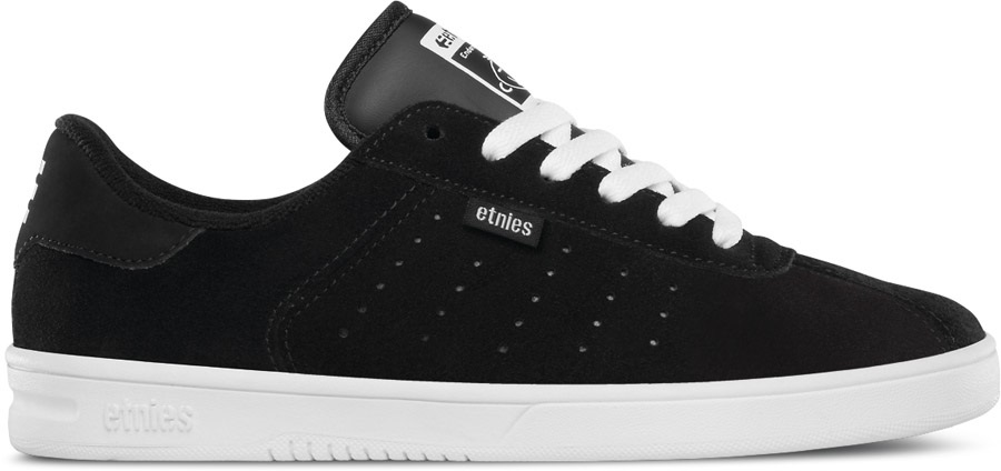 Etnies The Scam Women s Skate Shoes UK 3 Black White 5b481b40e682