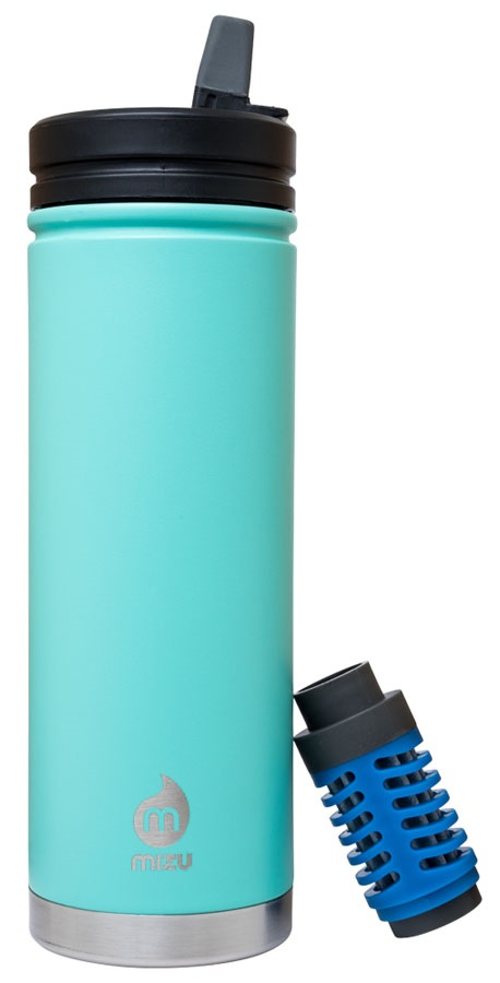 Mizu 360 V7 Everyday Filter Insulated Water Bottle, 650ml Spearmint