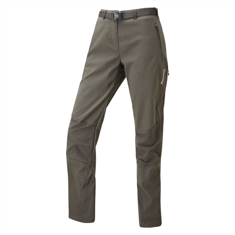 Montane Terra Ridge Short Women's Stretch Hiking Pants, S Shadow