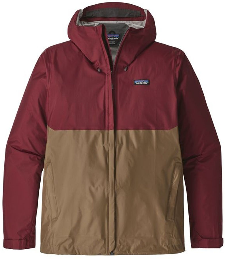 Patagonia Adult Unisex Torrentshell Waterproof Jacket, L Oxide Red