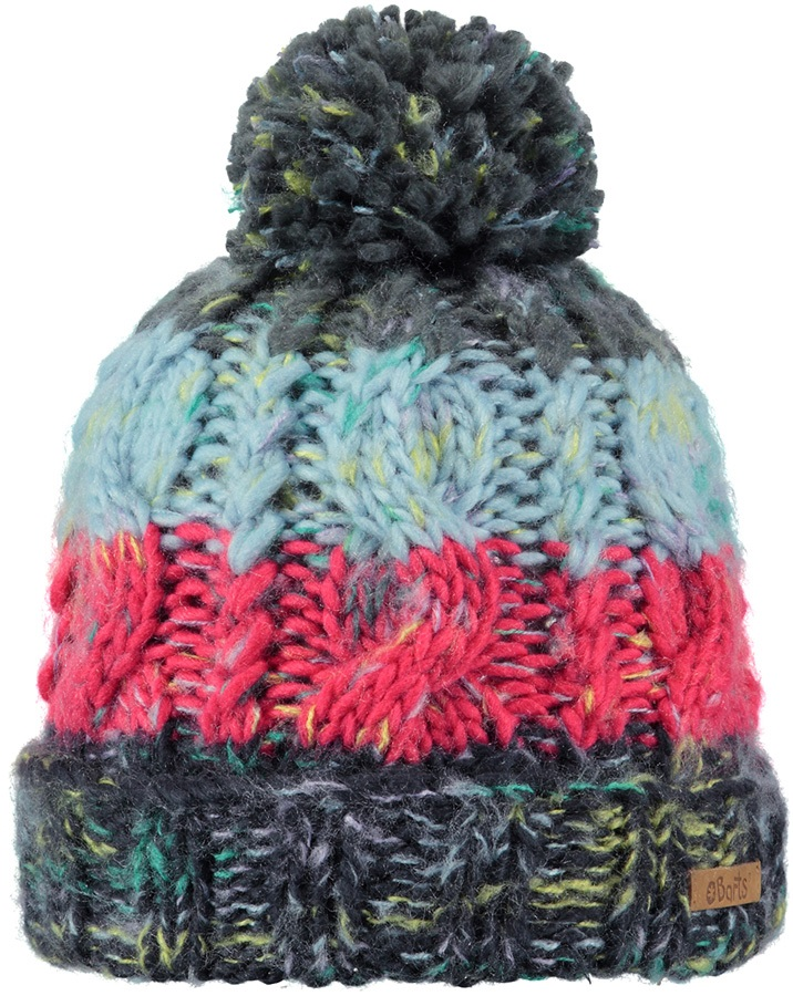 Barts Kids Sandy Ski/Snowboard Beanie Bobble Hat, One Size Blue