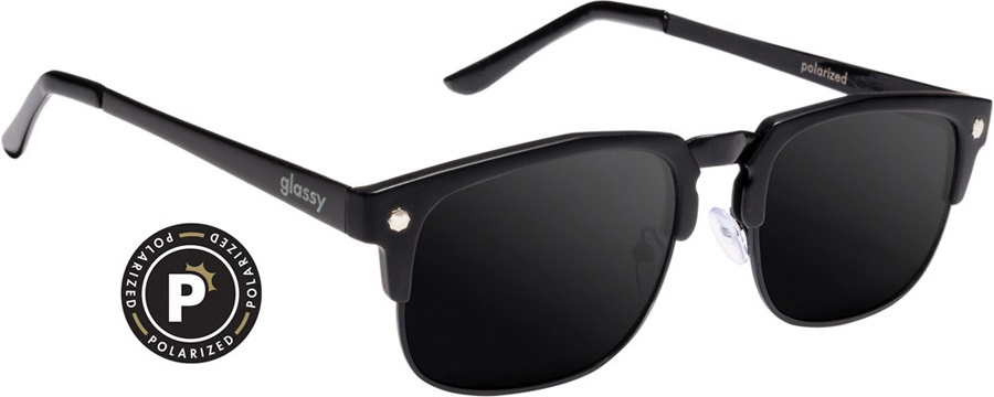 0cbe4dddbe5 Glassy Sunhaters P-Rod Sunglasses Matte Black