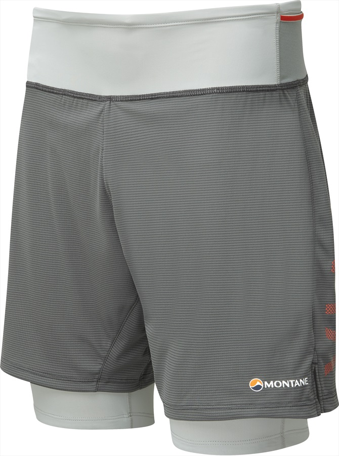 Montane Trail 2SK Shorts Men's Running Shorts, L Shadow