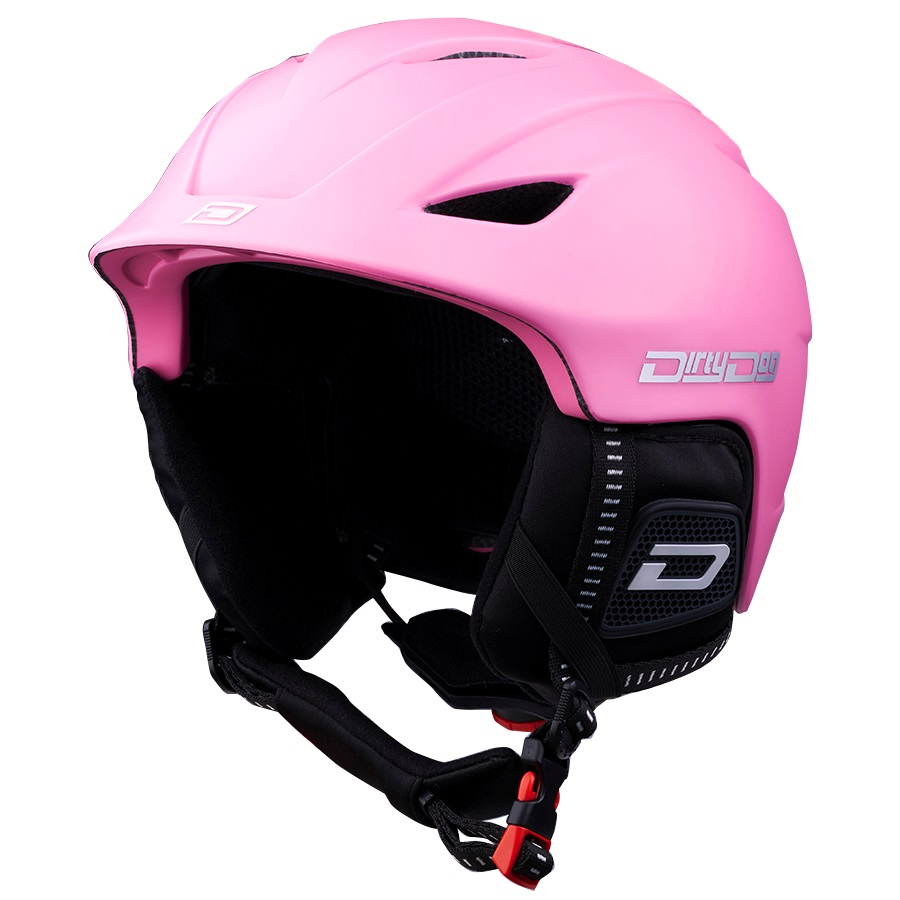 Dirty Dog Eclipse Snowboard/Ski Helmet, L, Pastel Pink