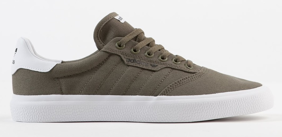Adidas 3MC Men's Trainers Skate Shoes, UK 7 Raw Khaki/ White