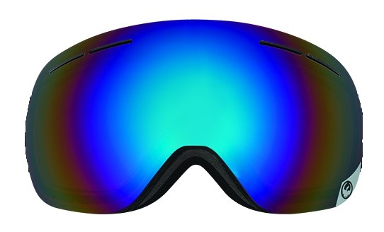 Dragon X1s Snowboard/Ski Goggle Spare Lens, One Size, Pol Flash Blue