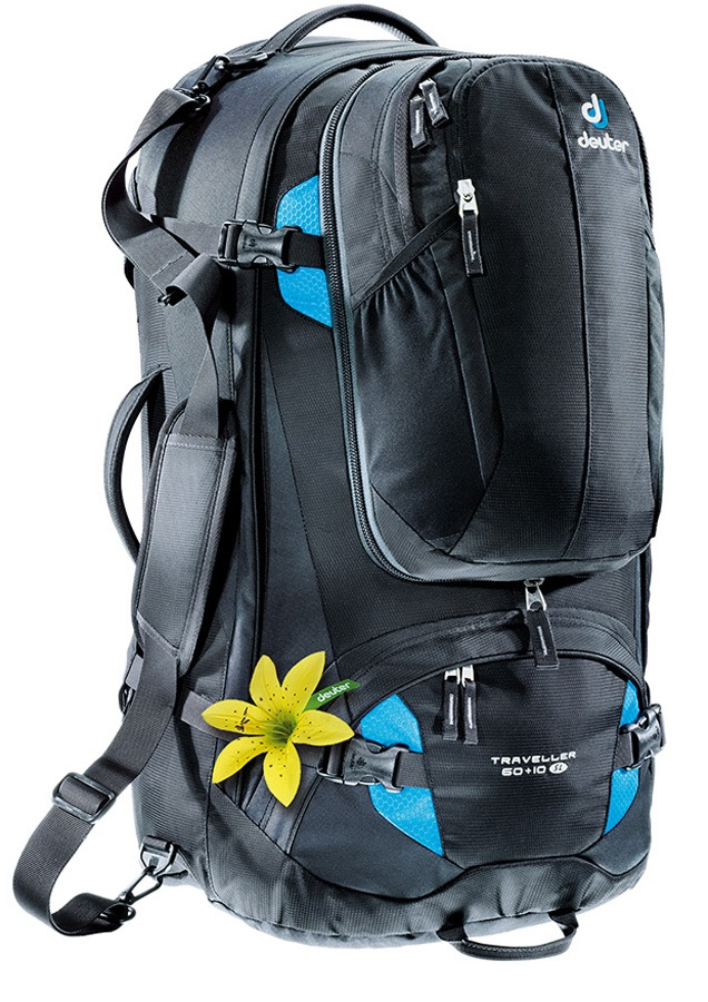 598ee36434 Deuter Womens Traveller 60 + 10 SL Travel Backpack