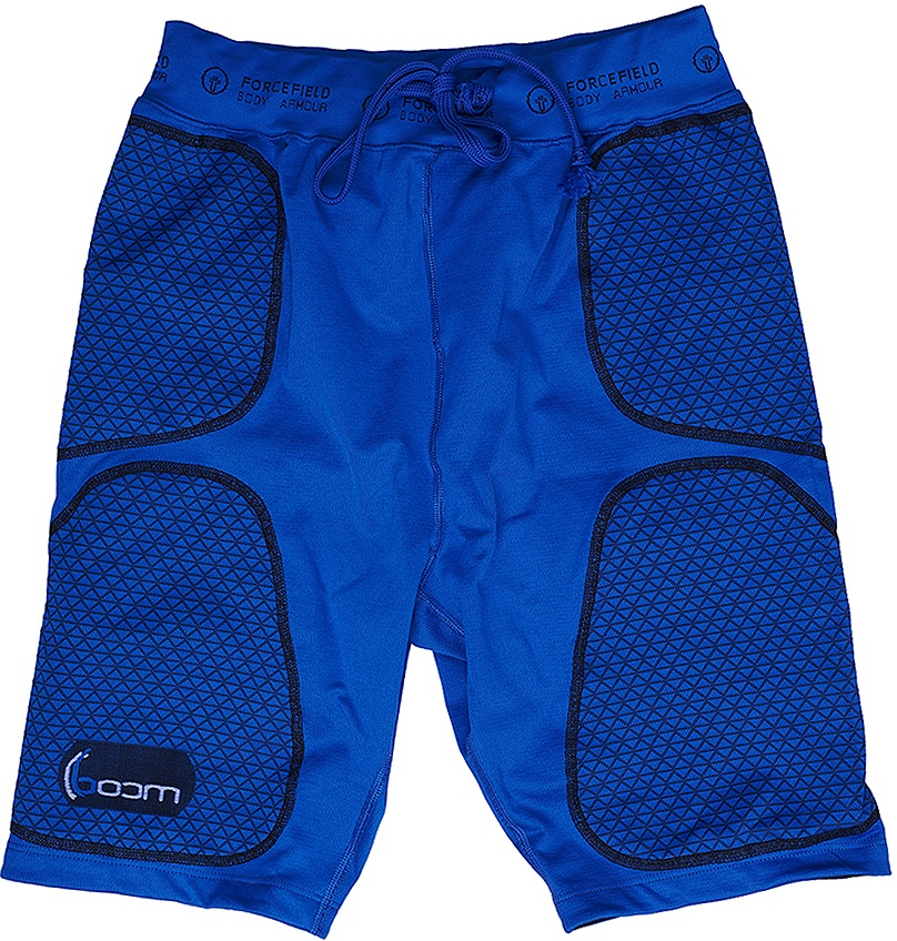 Forcefield Replacement Boom Shorts Base Layer, S, Blue