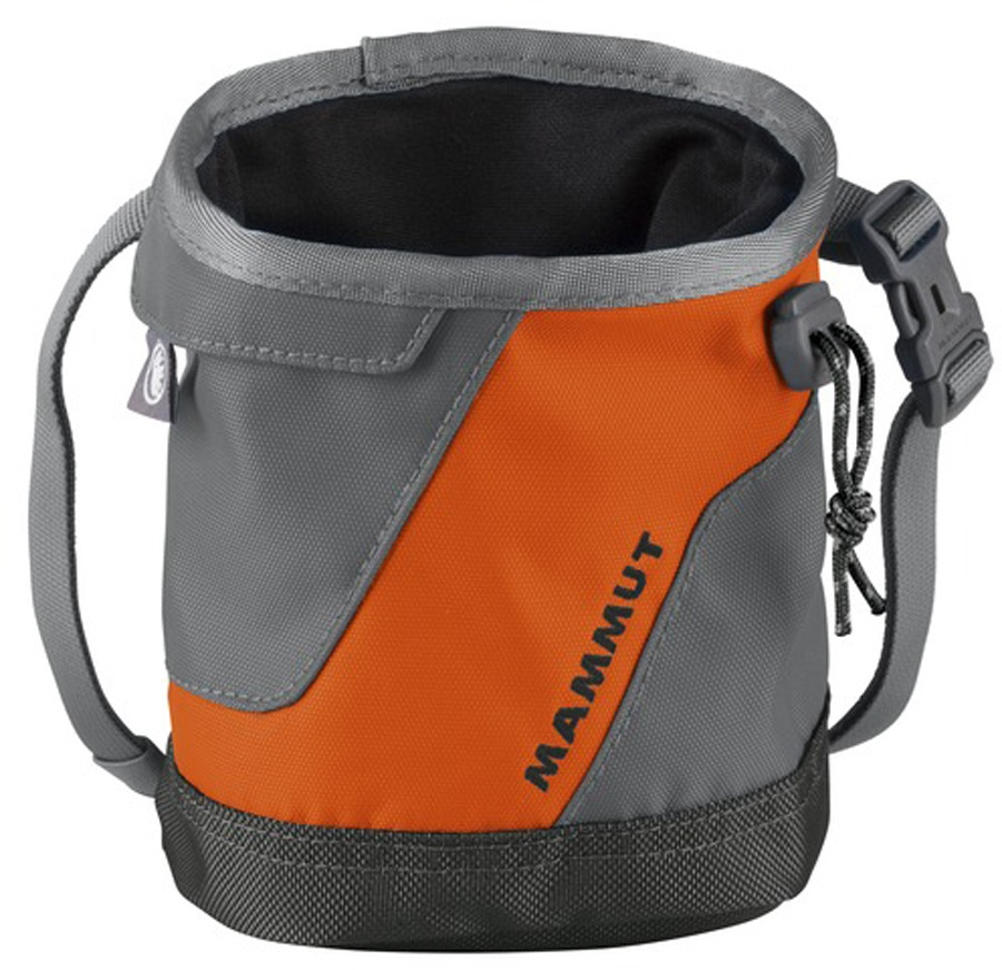 Mammut Ophir 2.0 Rock Climbing Chalk Bag, One Size, Orange/Smoke