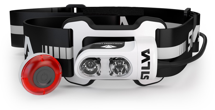 SILVA Trail Runner 4 Ultra IPX5 Running Headlamp, 350 Lumens Black