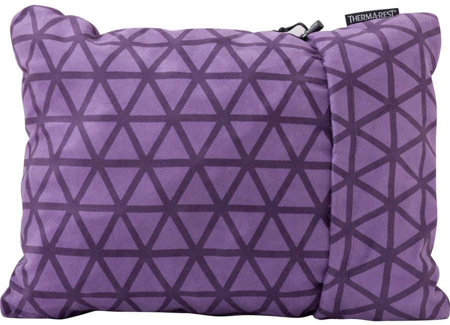 ThermaRest Compressible Travel Pillow Camping Pillow, M Amethyst
