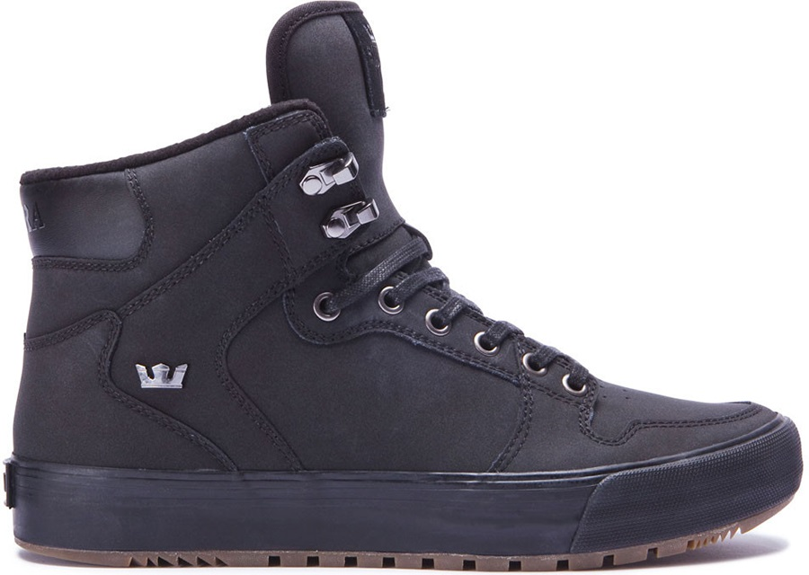 191c2b0a87 Supra Vaider CW Men's Winter Boots, UK 8 Black/Black/Dark Gum
