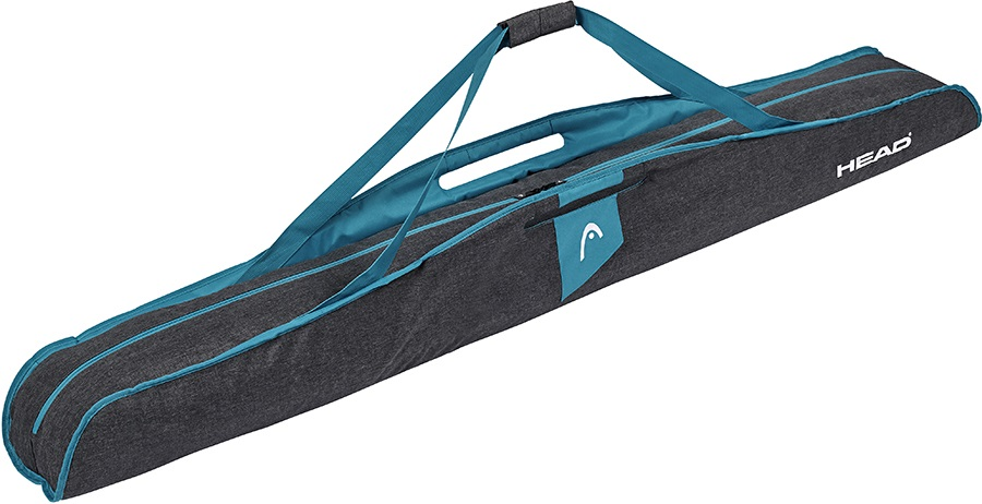 Head Womens Single Ski Bag Womens Ski Bag, Grey/Blue