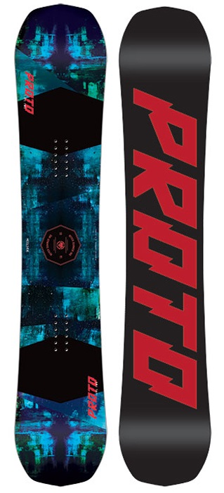 Never Summer Proto Type Two Rocker Camber Snowboard, 152cm 2019