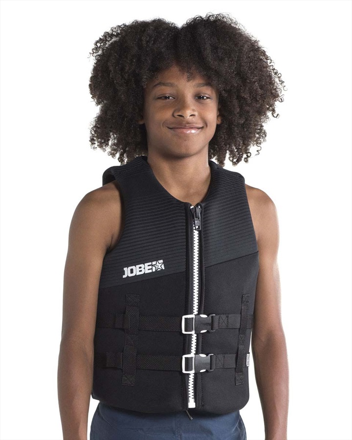 Jobe Neoprene 50N ISO Kids Buoyancy Vest, 10 Black 2019