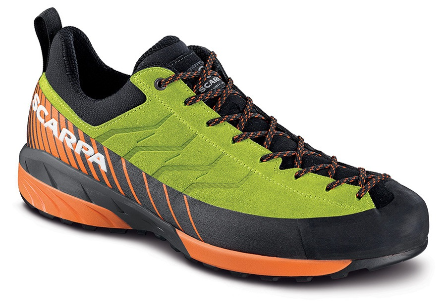 Scarpa Mescalito Approach Shoe, UK 11, EU 46 Lime Fluo-Tonic