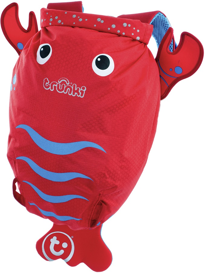 Trunki PaddlePak Kid's Backpack, 7.5L Pinch The Lobster
