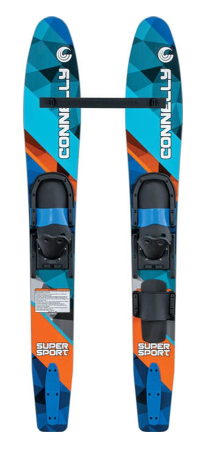 "Connelly Super Sport Jr. Combo Waterskis, 55"" / 140 Cm Blue 2019"